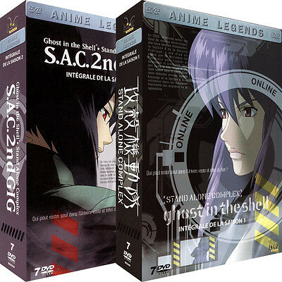 ★Ghost in the Shell[Stand Alone Complex] ★ Intégrale - Pack 2 Coffrets 14 DVD