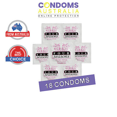 Four Seasons Naked Pure Pink Condom (18 Condoms)