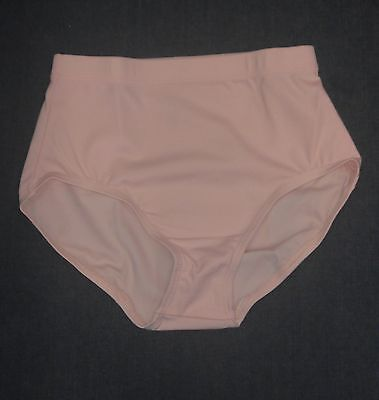 Capezio TB111 Women's Size Small Ballet Pink Athletic Briefs