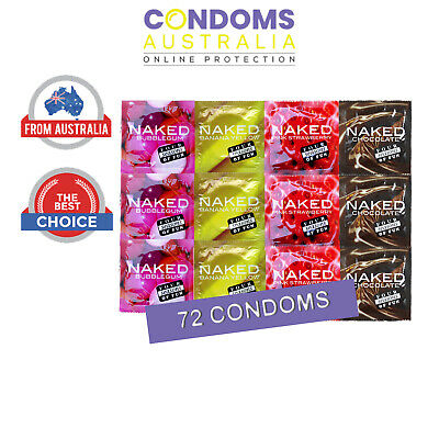 Four Seasons Naked Flavoured Bulk Condom (72 Condoms)