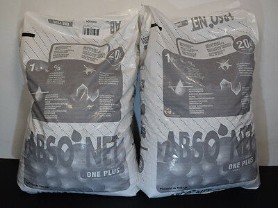 Absorbent Granules 20 litre bag For Oil, Water and liquid clean up x2