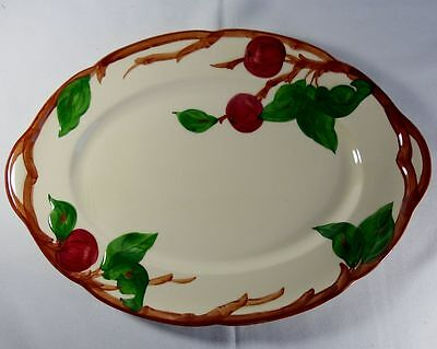 Franciscan Apple-Made in the US 14inch Oval Serving Platter