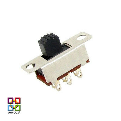 5 x Miniature Slide Switches**DPDT**(ON/ON)