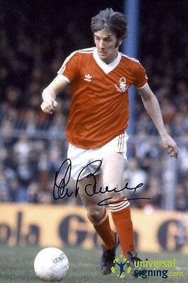 Stan Bowles Nottingham Forest Hand Signed 12x8 Photo SEE PROOF