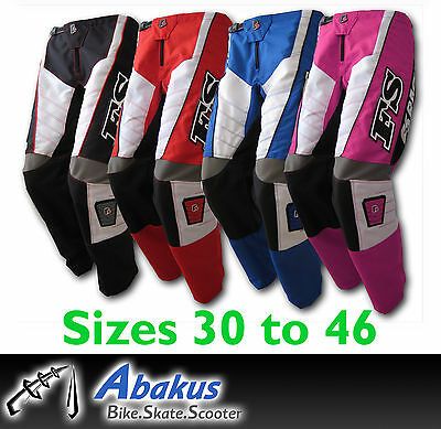 MX Motocross Adult Pants –Dirt Bike/Off-road/DH/BMX Race/Quad/ATV - NEW
