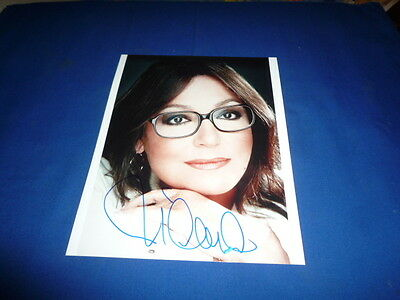 NANA MOUSKOURI signed Original Autogramm In Person 20x28
