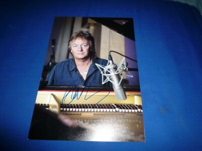 CHRIS NORMAN signed autograph In Person 8x12 SMOKIE