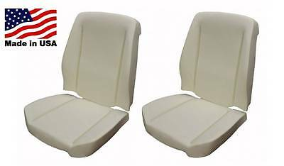 66-72 GTO Lemans Tempest Bucket Seat Foam Full Set 2 Seats Made in the USA
