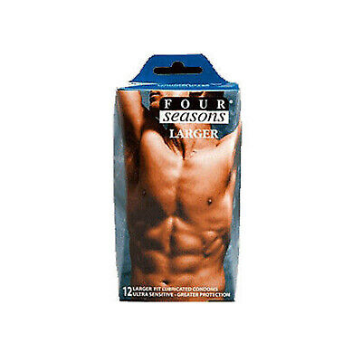 Four Seasons Larger Fitting (18 Condoms) FREE SHIPPING