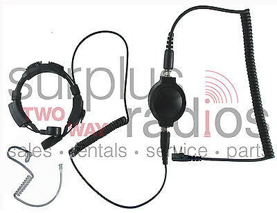 New Throat Mic Headset For Kenwood Radio Tk3160 Tk2160 Tk2170 Tk3170 Tk3200 Tk22