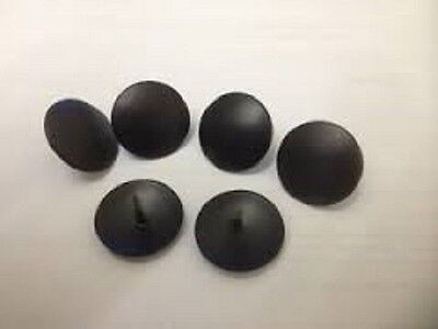 """new"" 6 X ""original"" Corona Mexican Pine Furniture Black Metal Studs / Pins"