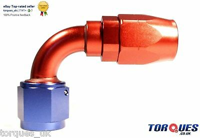 AN -10 (AN10 AN 10) 90 DEGREE Swivel Seal Hose Fitting