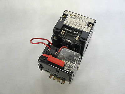 Square D 8536Sbo2H308 Motor Starter Size 0 Series A