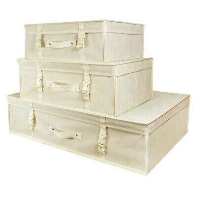 Ivory Wedding Dress Storage Box Bridal pH Neutral Travel Carry Case Hangerworld