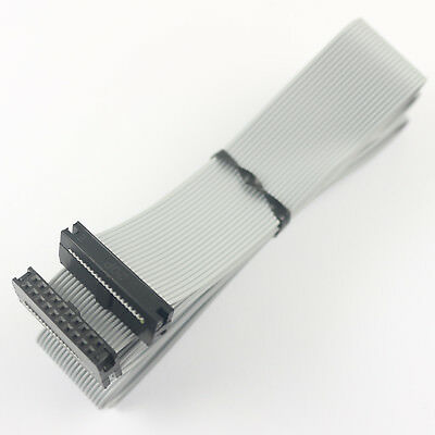 2Pcs 2mm Pitch 2x10 Pin 20 Pin 20 Wire IDC Flat Ribbon Cable Length 1.2 Meter