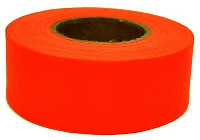 1 ROLL  IRWIN 17022 300 ft  ORANGE  VINYL FLAGGING TAPE MARKING RIBBON NEW
