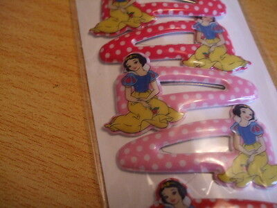 24 mixed  disney princess hair slides clips ideal party bags joblot