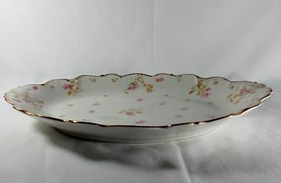 Bawo and Dotter/Limoges/Elite Works BWD29 14inch Oval Serving Tray