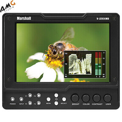 """Marshall Electronics 5"""" On-Camera Field Monitor V-LCD50-HDMI f/DSLR or camcorder"""