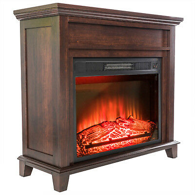 "GTC 28"" Black Electric Firebox Fireplace Insert Room Heater New"