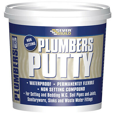 Everbuild Plumbers Putty Non Setting - 750g