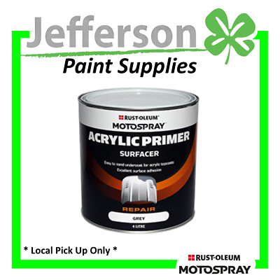 Acrylic Primer Surfacer 4L Grey Hichem Motospray