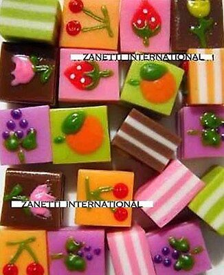 100 Assorted Miniature Layer Cakes *Dollhouse Food *Mini Cake WHOLESALE