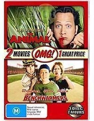 ANIMAL, THE & BENCHWARMERS, THE OMG Collection starring Rob Schneider DVD NEW