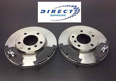 BMW E46 316 318 320 323 325 1999-2005 FRONT BRAKE DISCS AND MINTEX PADS SET NEW