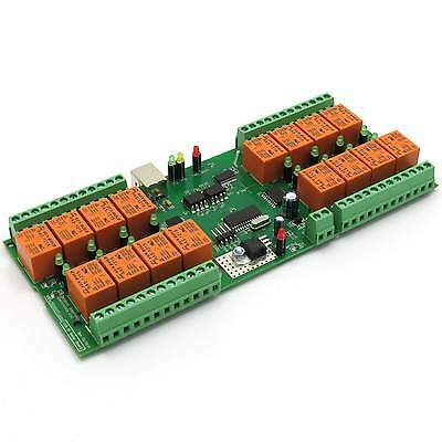 USB 16 Channel Relay Module, Board for Your Home Automation Project
