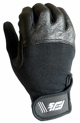 New Fjs Leather & Airmesh Gel Padded Wheelchair Disability Specific Sport Gloves
