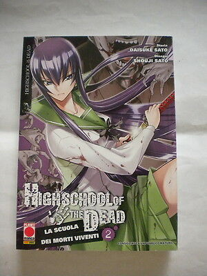 Highschool Of The Dead La Scuola Dei Morti Viventi 2 Prima Edizione Planet Manga