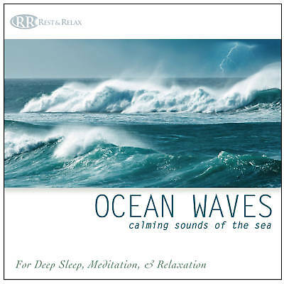 OCEAN WAVES CD Sounds of the Sea Relaxing Nature Sounds Deep Sleep or Relaxation