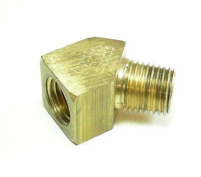 "Brass Pipe Fitting 45 Elbow 1/8"" MPT x 1/8"" FMPT"