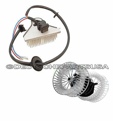 Mercedes W124 Heater Fan Blower Motor & Blower Regulator Unit