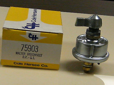 Cole Hersee Co. 75903 DPST Safety Master Disconnect Switch (On-Off)