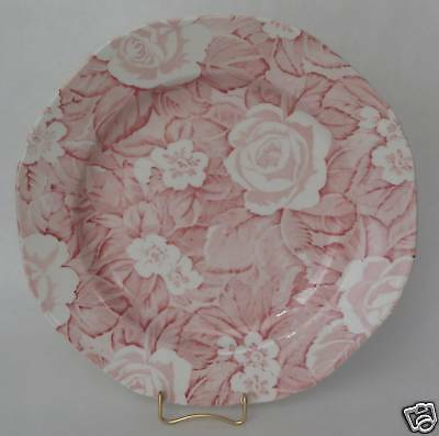 "Burleigh Victorian Chintz 7.5"" Plate Staffordshire ENG."