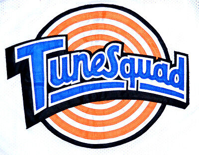 TAZ ! TUNE SQUAD SPACE JAM BASKETBALL JERSEY TOON WHITE - ANY SIZE