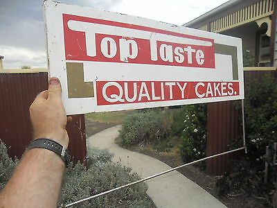 Old original non enamel sign Phoenix Biscuit Co. LAYBY AVAILABLE ALL ITEMS!