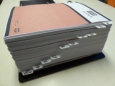 Case 3394/3594 Tractor Service Manual Repair Shop Book NEW with Binder