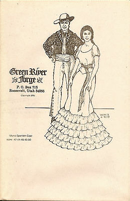 Green River Forge Vaquero Coat Pattern Out Of Print