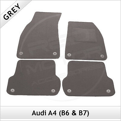 Audi A4 Estate Avant B6 2001-2005 Tailored Car Floor Carpet Mats GREY