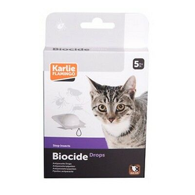 Pipettes Puce Chat Stop Insecte Lot De 4 Boites