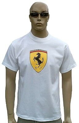 RaRe Official FERRARI LOGO Merchandise NICE MAN SPORTS ViP Star T-Shirt g.S/M 48