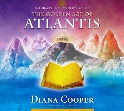 The Golden Age of Atlantis CD by Diana Cooper NEW