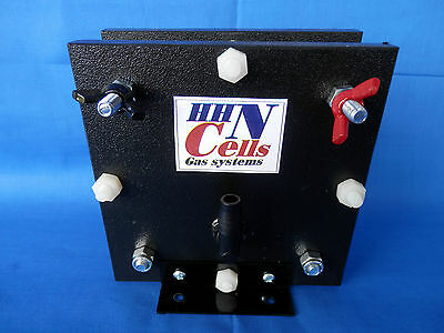 Hydrogen Generator Fuel Cell Hho Dry Cell 316 Stainless 9 Plates Electrolyzer