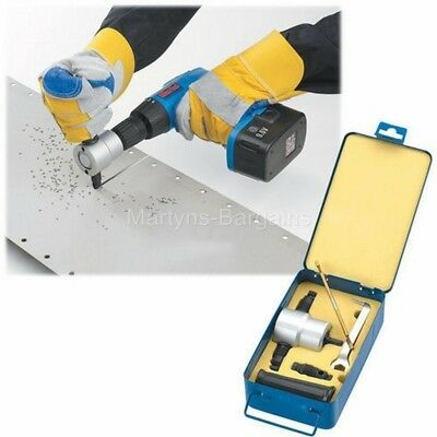 Clarke DHC-2 Double Headed Metal Nibbler, Fits to any electric or power drill