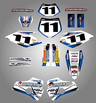 Full  Custom Graphic  Kit - STORM - Husaberg 2000 - 2005 stickers / decals