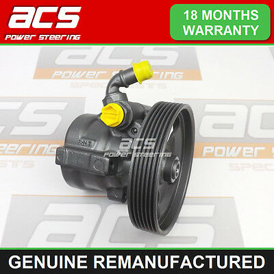Citroen Xsara Picasso Power Steering Pump 1.6 Hdi 2004 To 2010 - Reconditioned