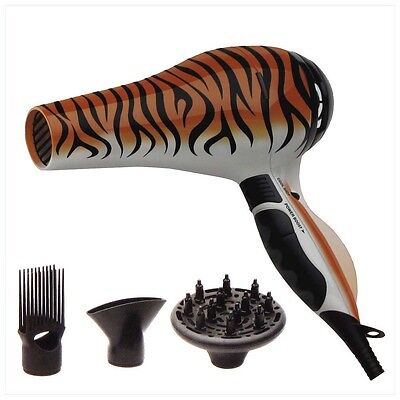 HOT TOOLS Beauty Skins Bengal Tiger Turbo Ionic Salon Dryer